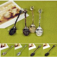Vintage Royal Wind Coffee Spoon Tea Ice Cream Spoon-6 Pcs+FREE GIFT