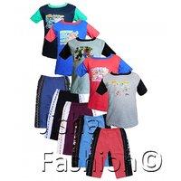 Jisha Fashion Boys Tshirt  Trak Pant (RKGHDT) ( Combo of 5 )