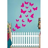 Dream On Walls Decal- Butterfly Pink Wall Sticker