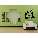 Dream On Walls Decal- Warli Dance Wall Sticker
