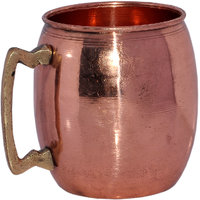 Pure Copper Moscow Mule Mug With Brass Handle
