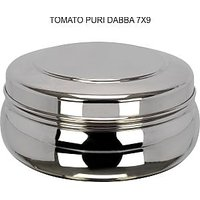 Grish Stainless Steel TOMATO Dabba Set Of 3