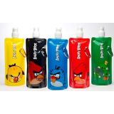 Angry Birds Foldable Re Usable Water Bottle ( 3 Pieces Set )