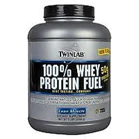[TWIN LAB  100% WHEY PROTEIN FUEL /2 LB (Choclate , Vanila , Strawberry)]