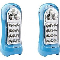 15 LED Rechargeable Emergency Light Pack Of 2 (Deal Offer)