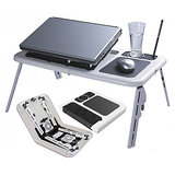 Branded Portable Laptop e-table with USB cooling Fan available at ShopClues for Rs.599