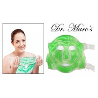 Dr.Marc's Aloe Vera Eye Line Face Mask Suitable For All Faces With Free Eye Mask - 4019210