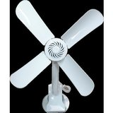 TABLE FAN 7 Inch Clip Fan AC OPERATED SUPER FAN CLIP ANY WHERE FOR SHOPS HOMES