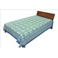 Designer Exclusive Floral Print King Size Single Bed Sheet SRB2073