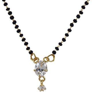 Urbanela fine quality American diamond mangalsutra (ADM01)