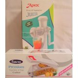 Apex Fruit & Vegitable Juicer With FruitAnd Vegitable Cutter