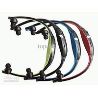 New Sports MP3 Player FM With Wireless Headset Headphone USB TF/SD Card Slot.