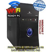 C2D/4/320 CORE 2 DUO CPU / 4GB RAM/ 320GB HDD / ATX CABINET DESKTOP PC COMPUTER