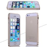 Aluminium Metal Frame Bumper Case For Apple Iphone 5 5S - Champagne Gold Color