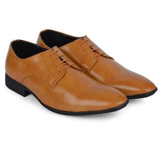 Ziraffe BOGOTA Camel Leather Formal Shoes