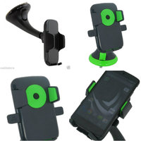 Universal Car Glass Mount Holder Stand For Smartphones