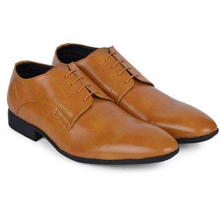 Ziraffe HOBART Camel Leather Formal Shoes