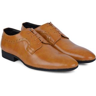 Ziraffe PAVEL Camel Mens Leather Formal Shoes