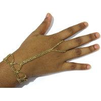 Golden Stone Belt Hand Panja Bracelet