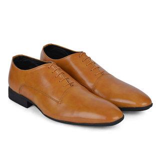 Ziraffe SEOUL Camel Mens Leather Formal Shoes