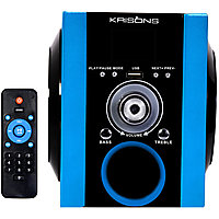 Krisons Multimedia Speaker With FM/USB And Aux (Blue)