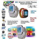 Wrist Watch Dual Sim Multimedia Mobile Phone