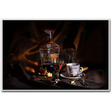 Brandy And Coffee Poster By Artifa