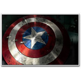 Captain America Shield Poster By Artifa