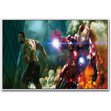 Iron Man And The Hulk Poster By Artifa
