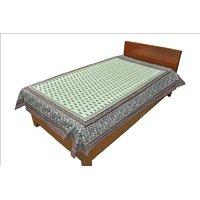 Designer Exclusive Floral Print King Size Single Bed Sheet SRB2087