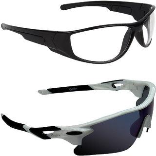 Zyaden Blue UV Protection Unisex Sports Sunglass