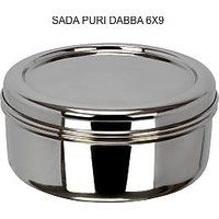 Grish Stainless Steel SADA DABBA - Set Of 4