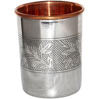 Ayurveda Healing Copper Glass Tumbler, Set Of 2 Glasses