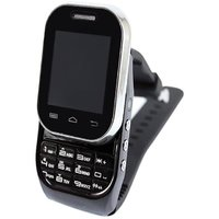 Black KenXinda W1  Watch Mobile FREE Bluetooth Headset  Dual SIM - 4044234