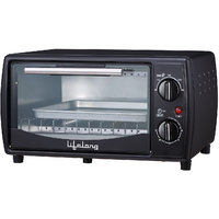 Lifelong 10 Litres 650-Watt Oven Toaster Griller, Black