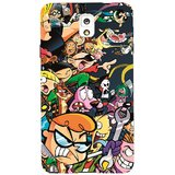 Snooky Digital Print Hard Back Cover For Samsung Galaxy Note 3 N7200 Td11494