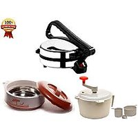 Roti Maker With Dough Maker  & CASSROLE (SJ)