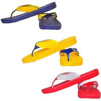 Pari  Prince Kids Slippers (Pack of 3)
