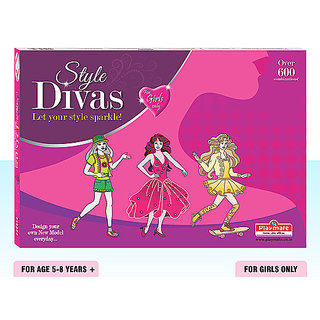 Playmate Style Divas Let your stlye sparkle Age 5 to 8 Years+