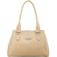 Fostelo Women's Elite Shoulder Bag Beige (FSB-737)