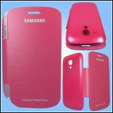 Samsung 7562 S Duos Flip Flap Book Cover ( Pink)