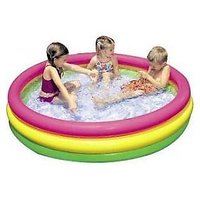INTEX INFLATABLE KIDS BATH POOL WATER TUB - 3 FEET (NEW) with Repair patch