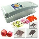 Apex Kitchen Master Vegetable Onion & Fruit Chopper Dicer - Two Blade