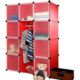 Plastic wardrobe LKL- 60- RD