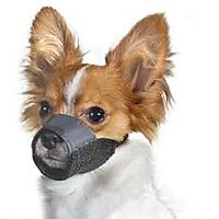 Dog Nylon Adjustable Muzzle For Small Breed Dogs And Puppies - 4064768