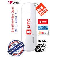 Brand New Unlock MTS Huawei EC315 CDMA EVDO RevB WiFi USB Modem MTS TATA WOC