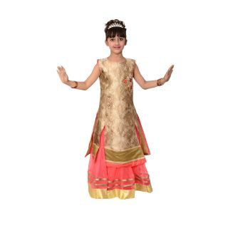Arshia Fashions Girls Lehenga Choli taffeta silk Designer embroidered Girls partywear ethnic wear