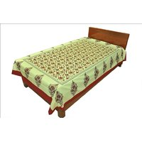 Designer Exclusive Floral Print King Size Single Bed Sheet SRB2113