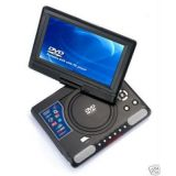 Portable Dvd Player Divx Mp3 Tv Usb 7Inch Screen