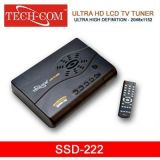 Tech-Com Ultra Hd Lcd Tv Tuner (With Fm) - Ssd-222